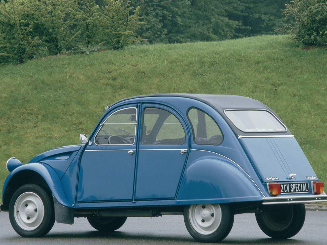 Bild zu 70 Jahre Citroën 2CV