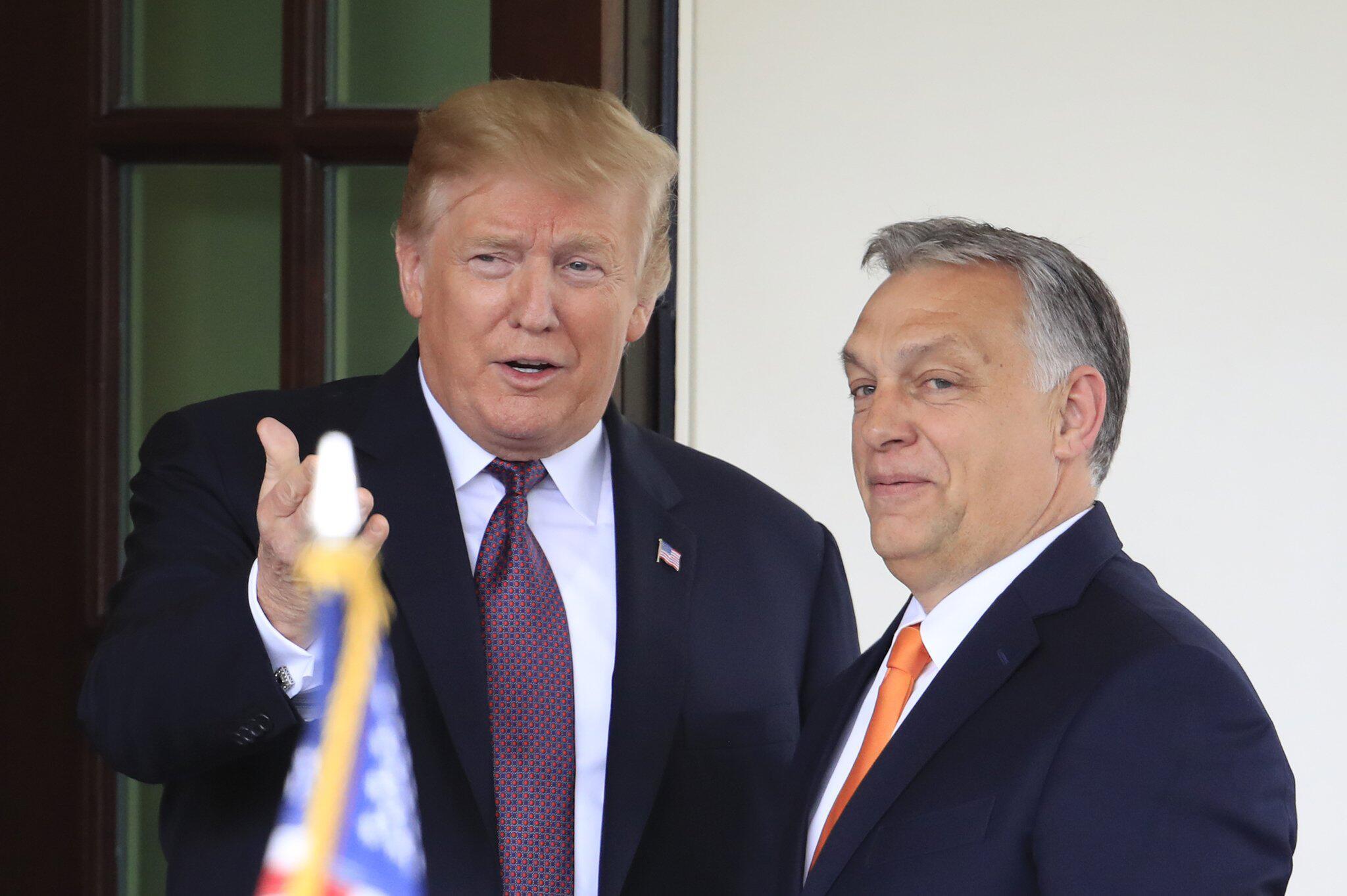 Bild zu US-Präsident empfängt ungarischen Ministerpräsidenten