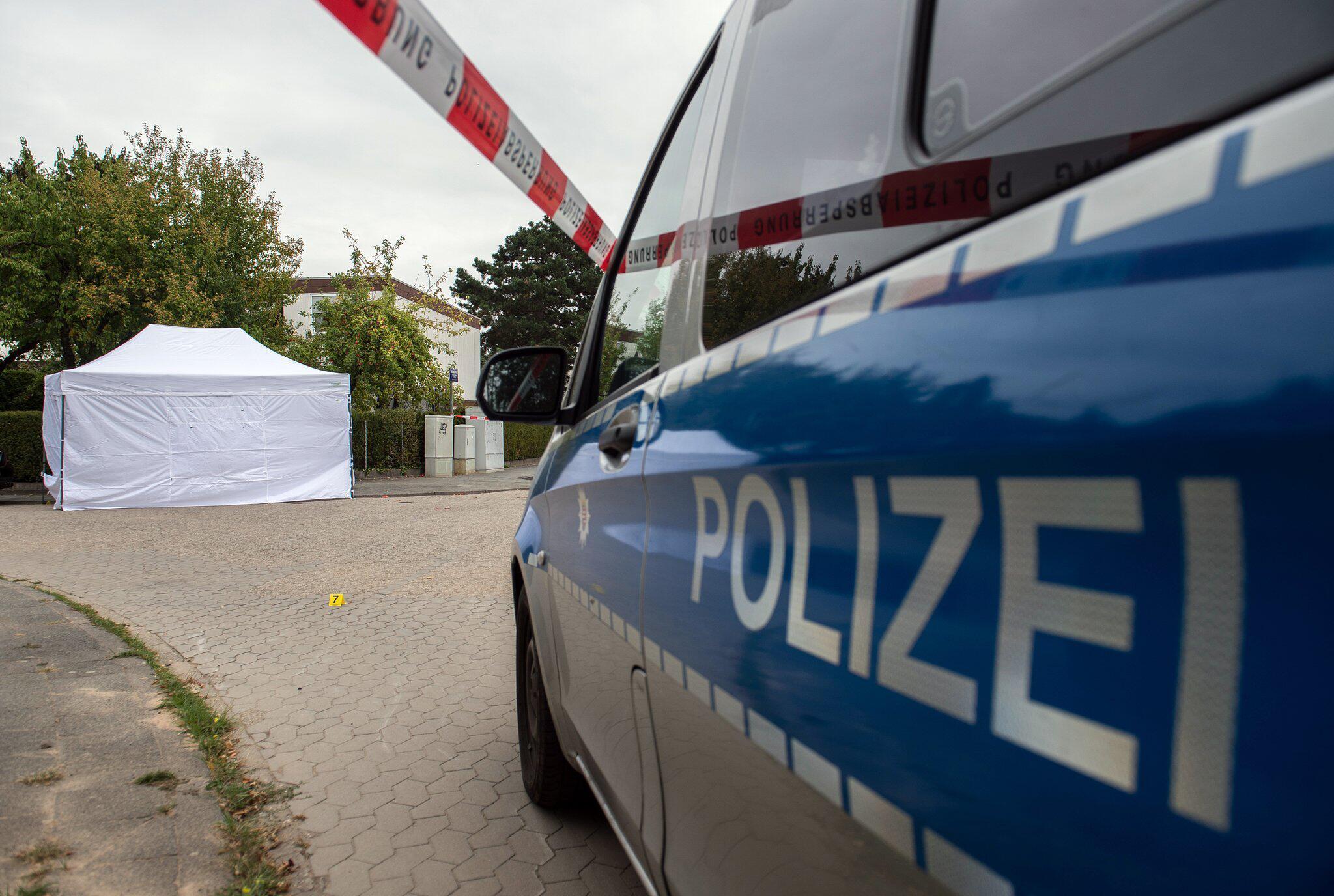 Bild zu Tote Frau auf Strasse in Darmstadt aufgefunden