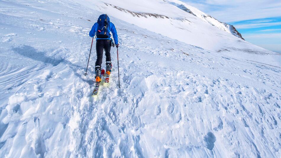 Skitourengehen.