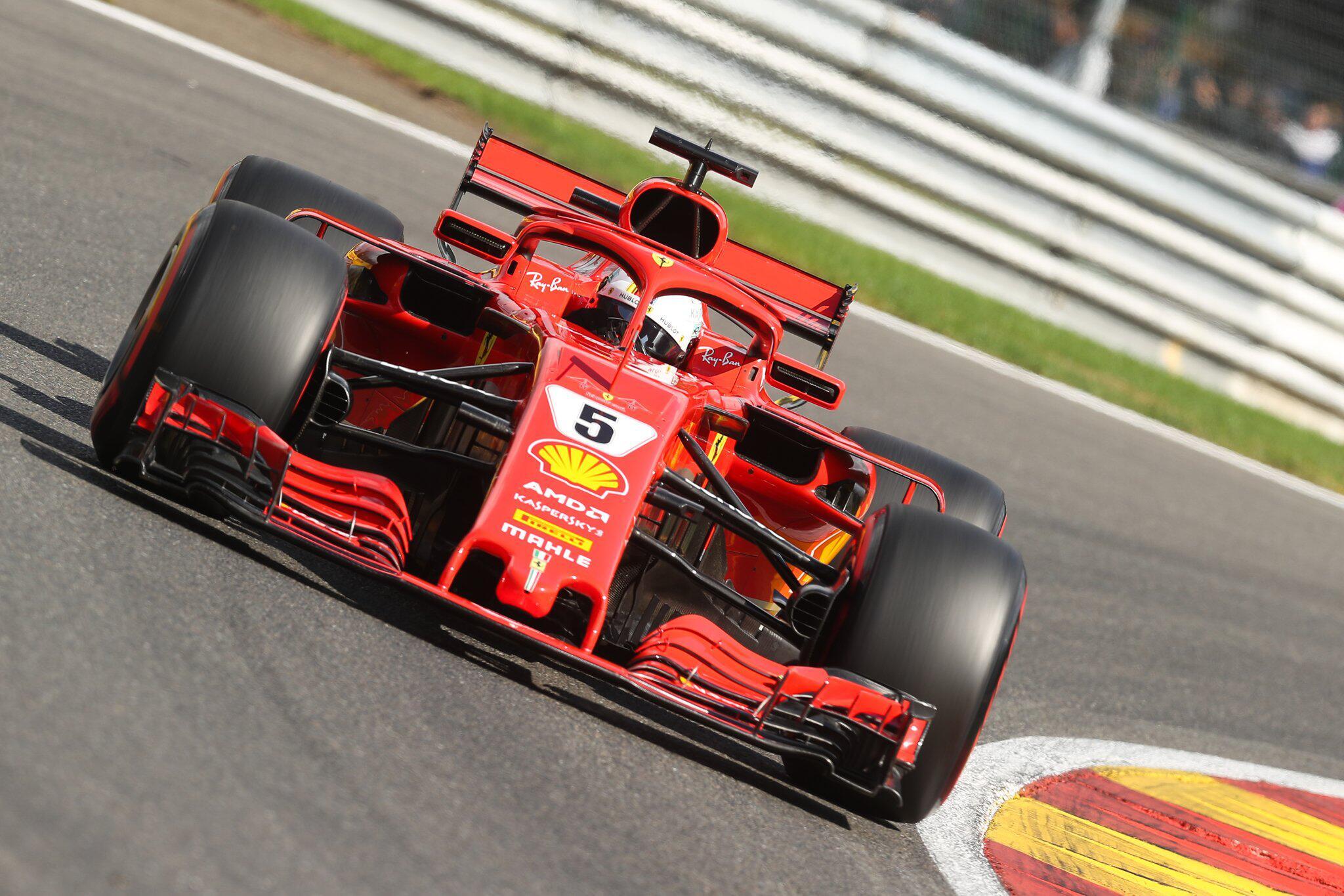 Bild zu F1 Grosser Preis von Belgien - Training