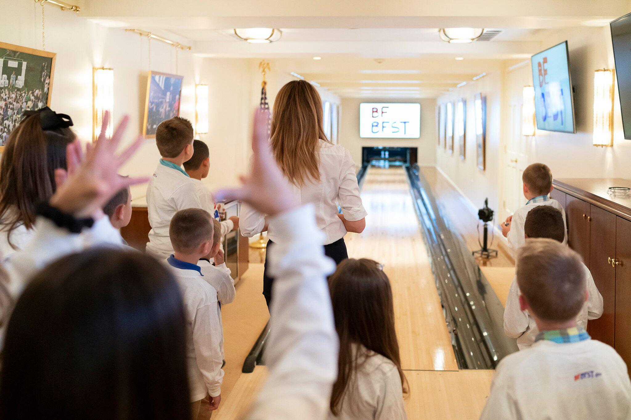 Bild zu Bowlingbahn im Weissen Haus renoviert