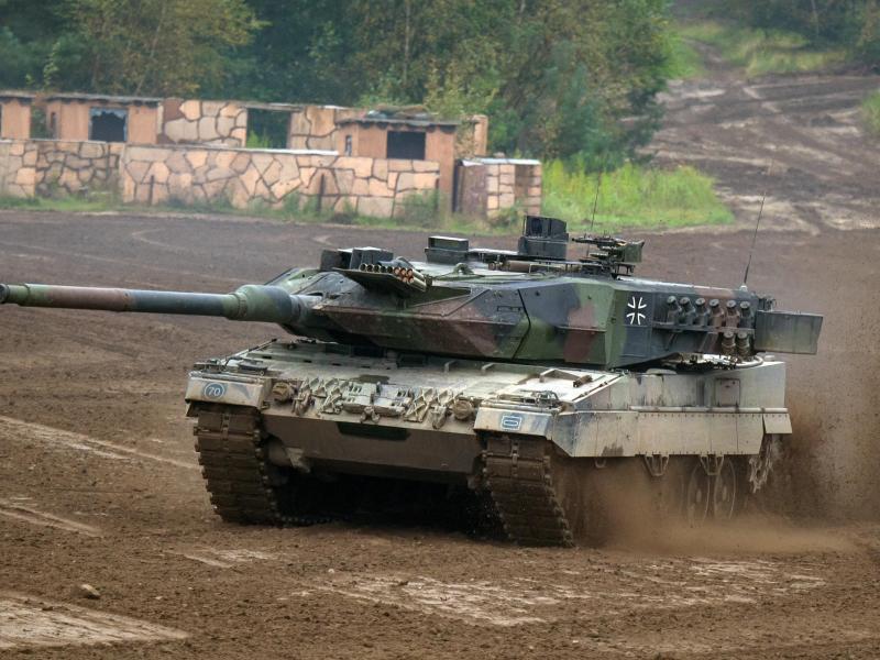 Bild zu Kampfpanzer Leopard