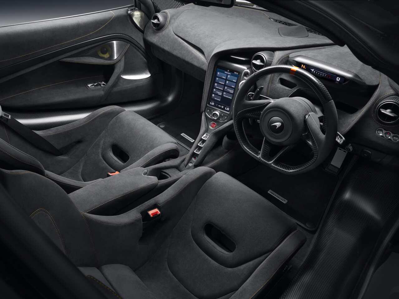 Bild zu 720S Track Theme Interieur