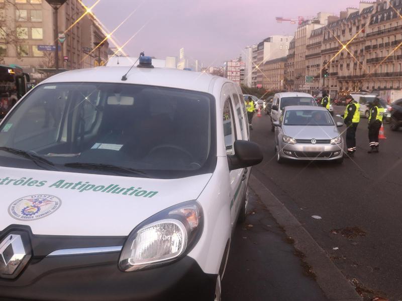 Bild zu Luftverschmutzung in Paris