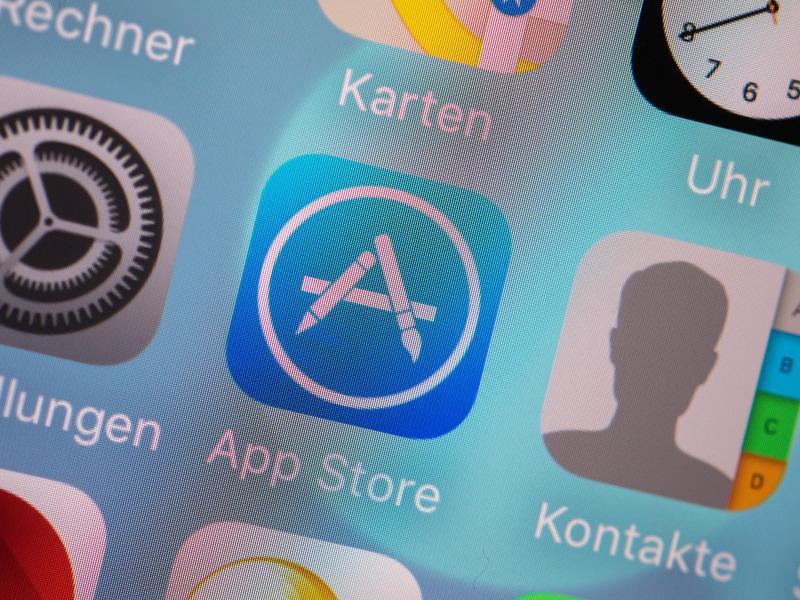 Bild zu Apple App Store