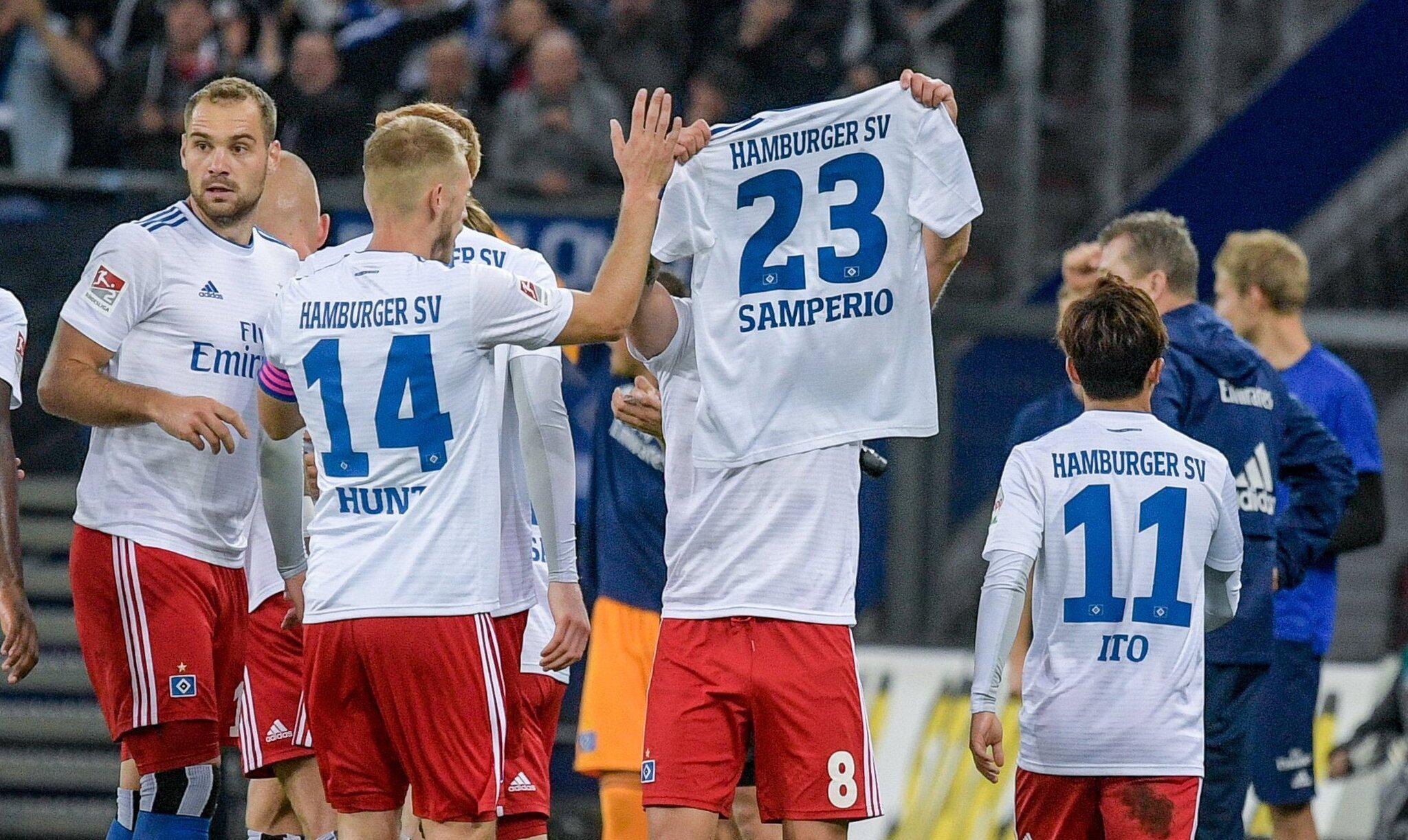 Bild zu Profis des Hamburger SV