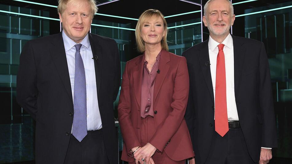 TV-Duell im Wahlkampf in Grossbritannien