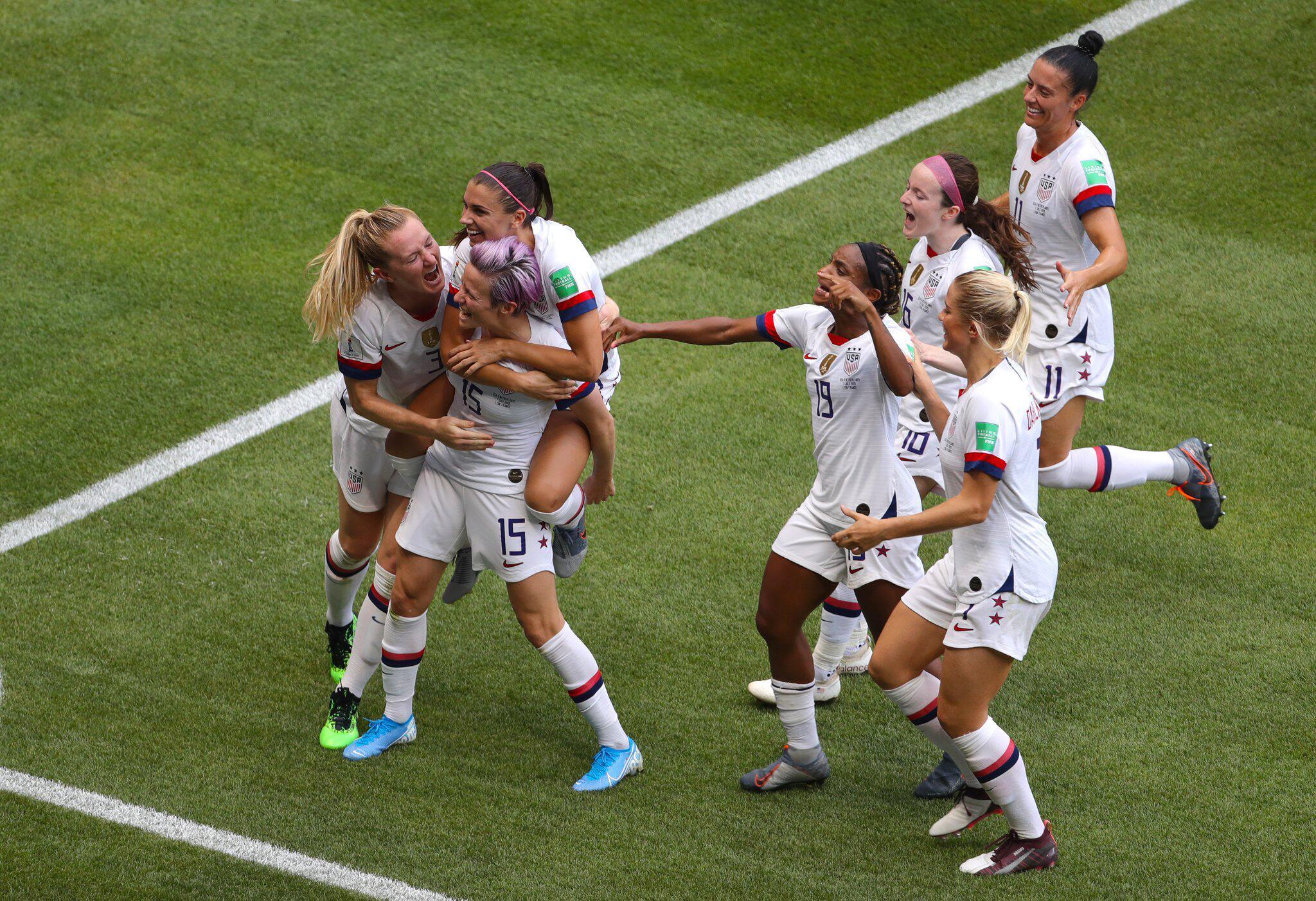 Bild zu Frauenfussball-WM - USA - Niederlande