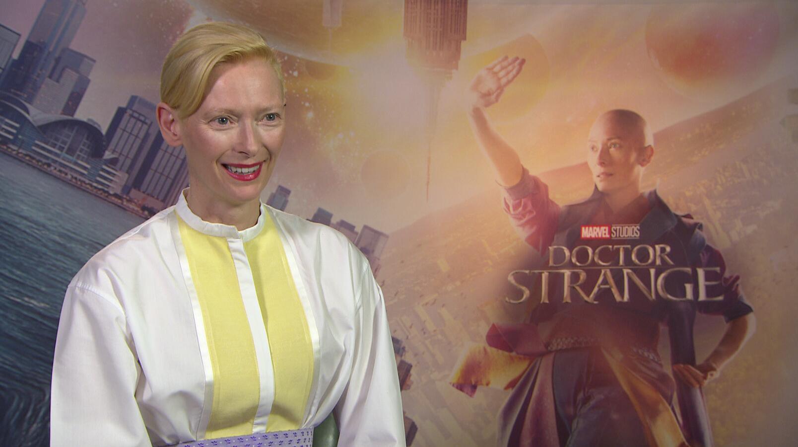 Bild zu Doctor Strange Tilda Swinton