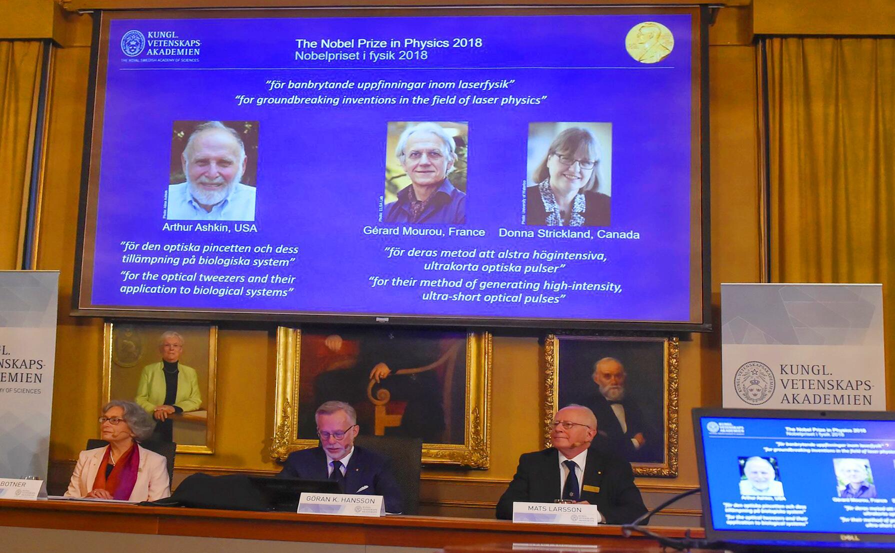 Bild zu Nobelpreis Physik