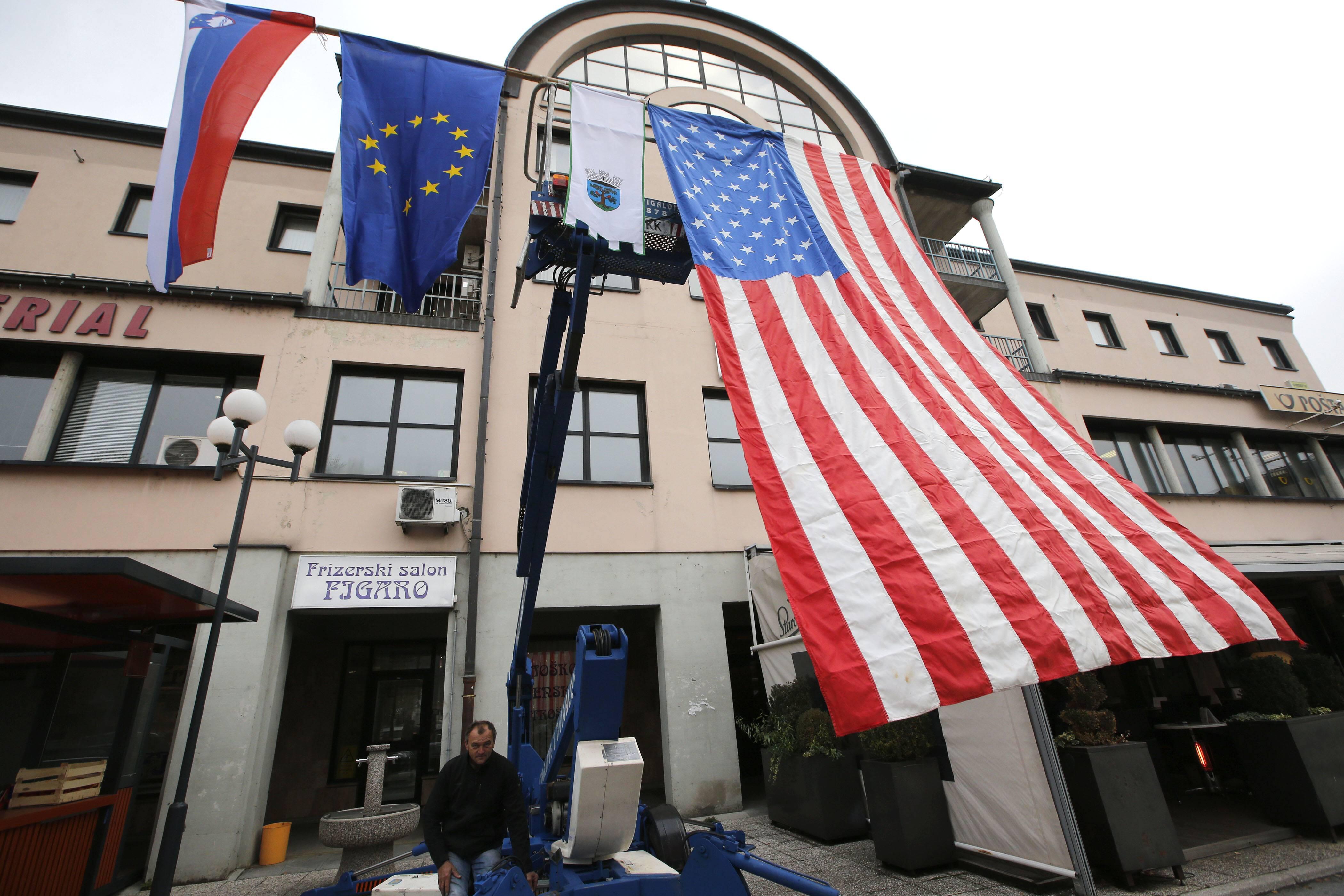 Bild zu Sevnica, eine Kleinstadt im heutigen Slowenien, Heimatort Melania Trump