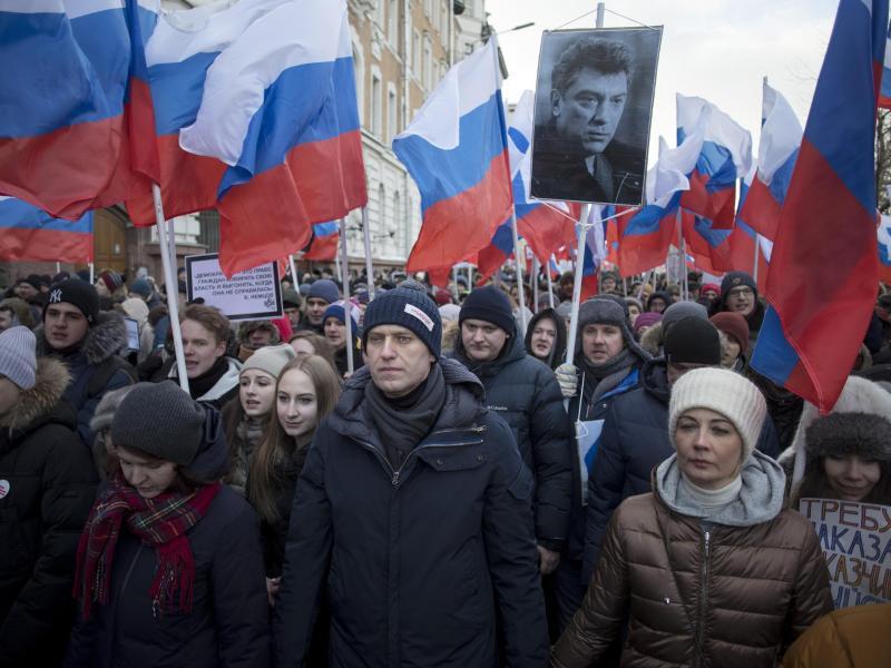 Bild zu Gedenken an Boris Nemzow