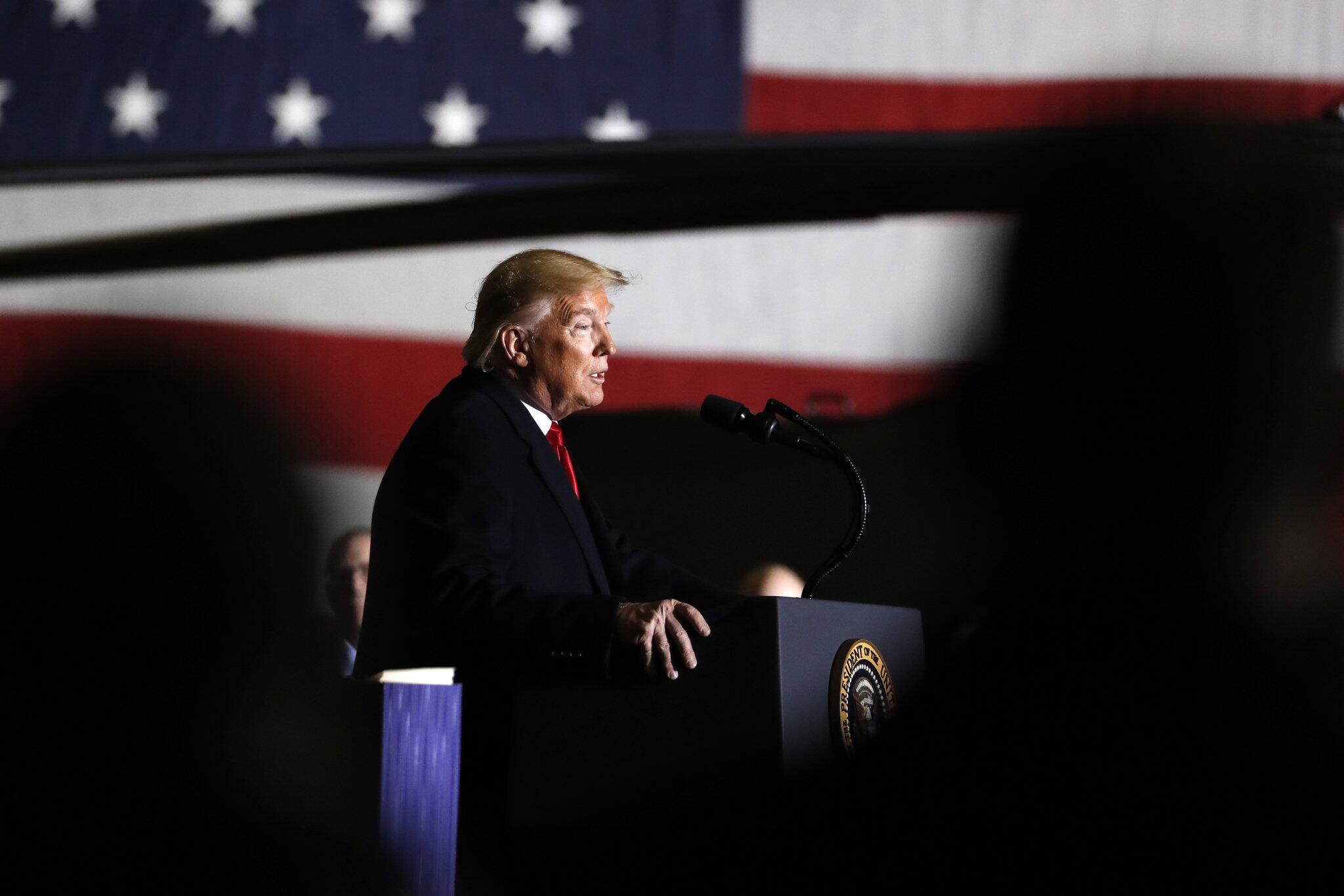 Bild zu US-Präsident Trump - Gesetzespaket zum Verteidigungshaushalt