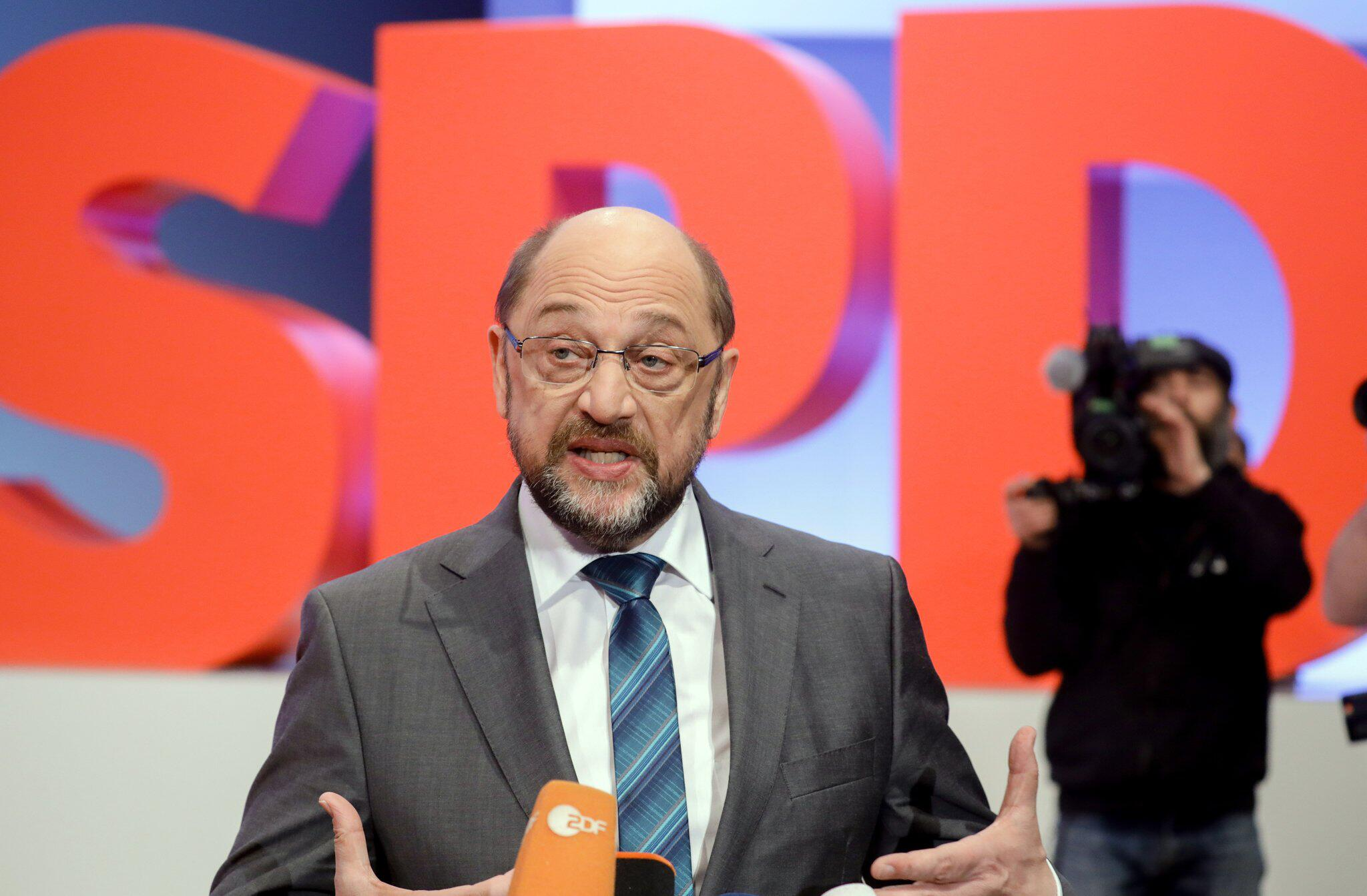 Bild zu Germany's SPD holds special party conference