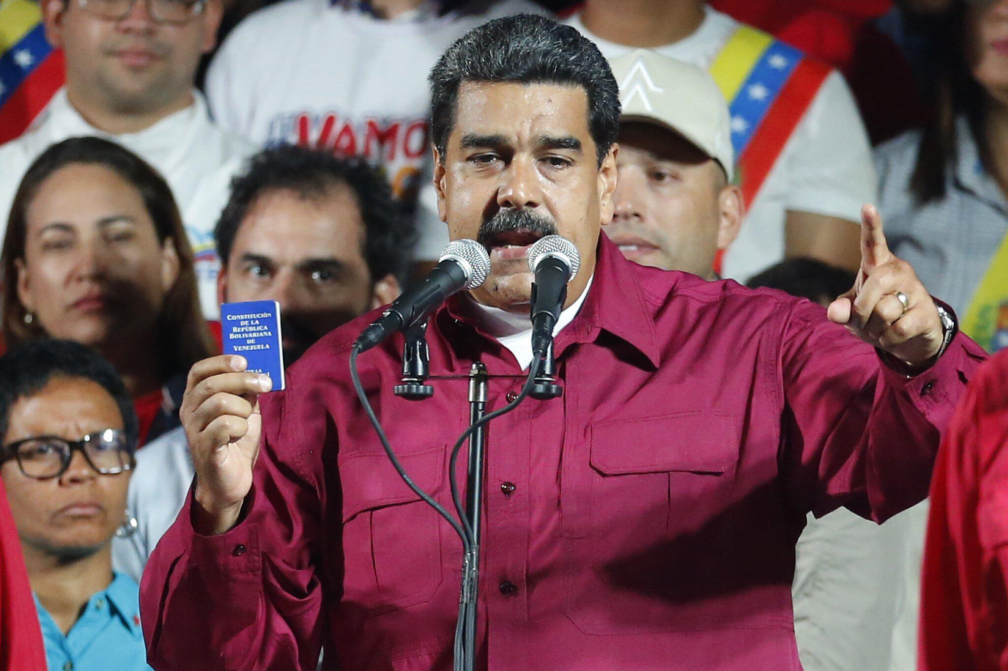 Bild zu Nicolas Maduro,