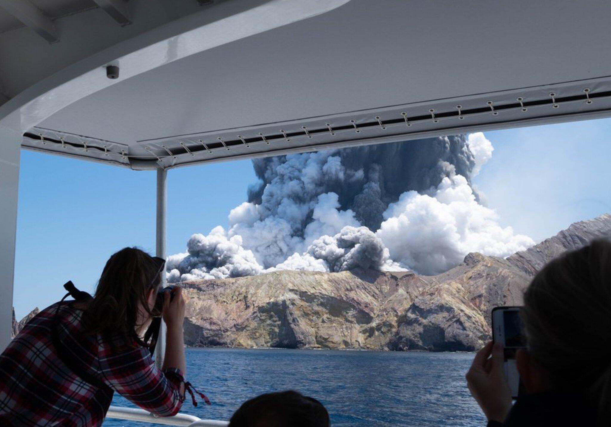 Bild zu Vulkanausbruch