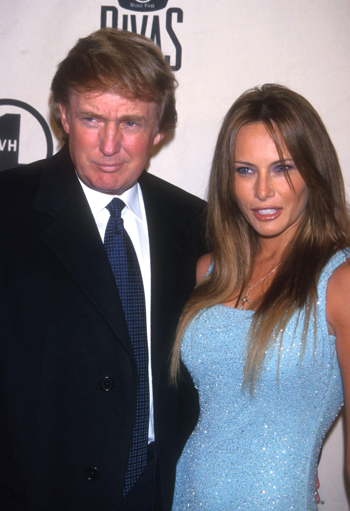Bild zu Donald Trump, Melania Knauss