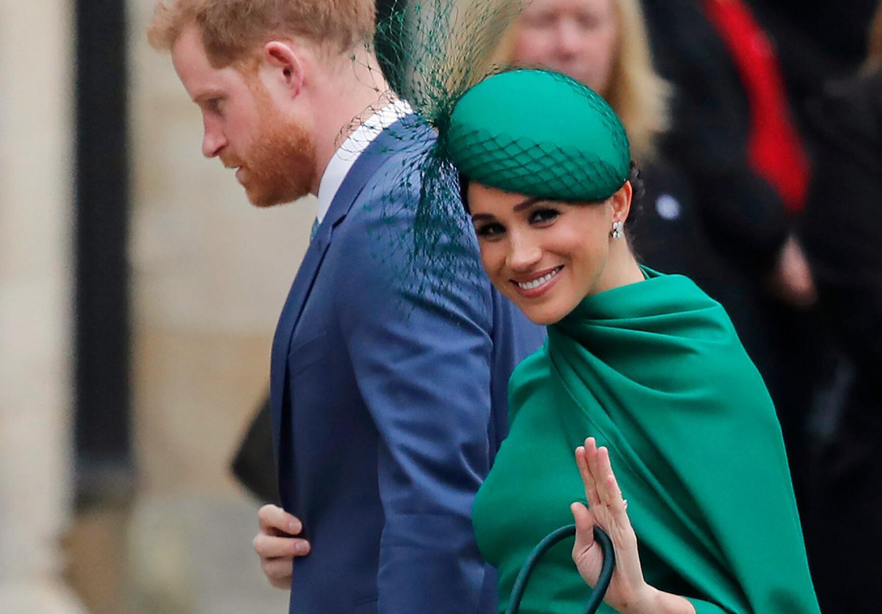 Bild zu Commonwealth-Tag 2020 - Meghan und Harry