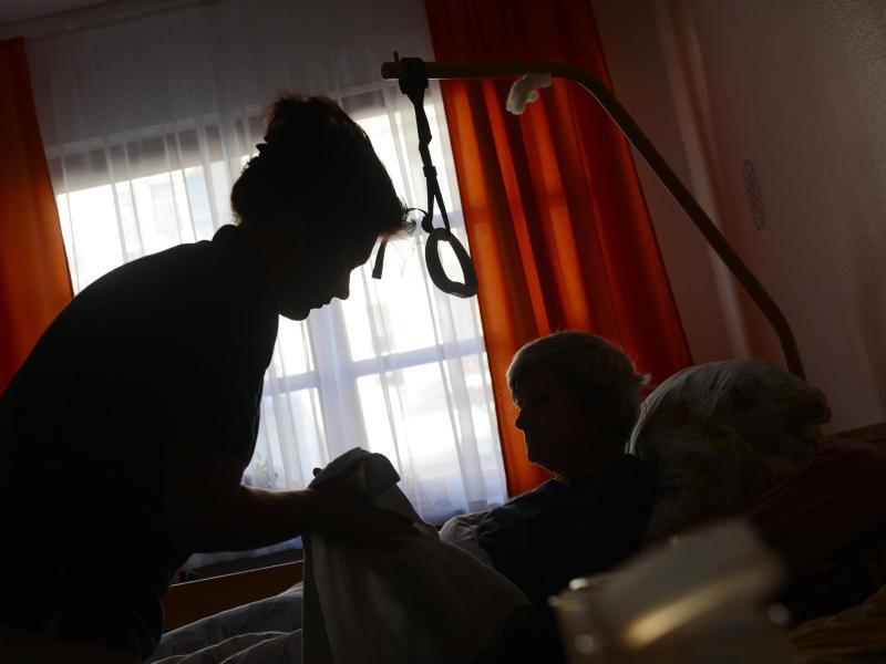 Bild zu Ambulante Pflegerin