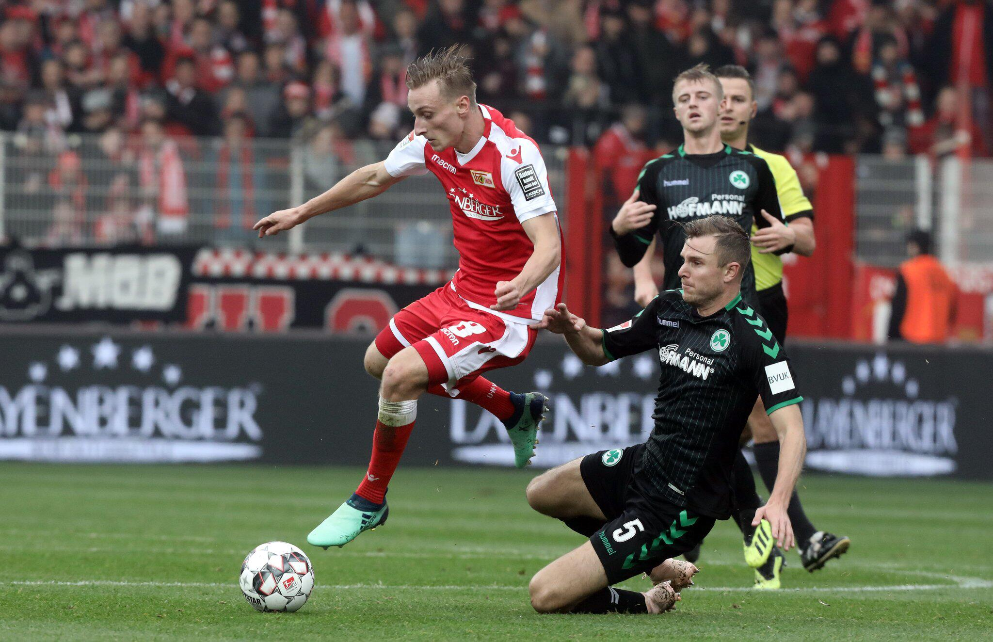 Bild zu 1. FC Union Berlin - SpVgg Greuther Fürth