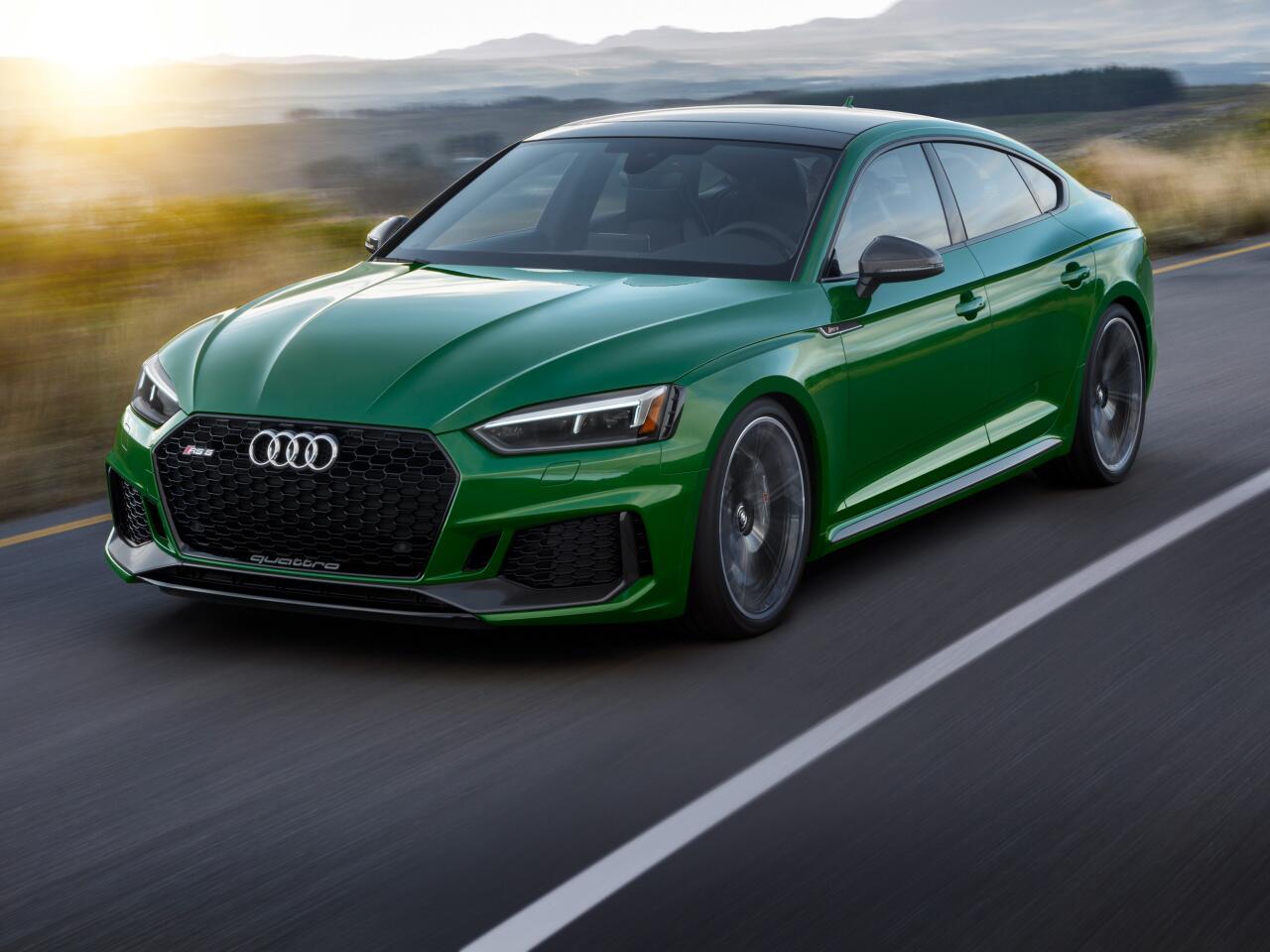 Bild zu High-Performance-Coupé: Der neue Audi RS 5 Sportback setzt zum Überholen an