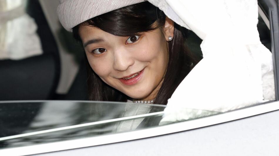 Japans Prinzessin Mako