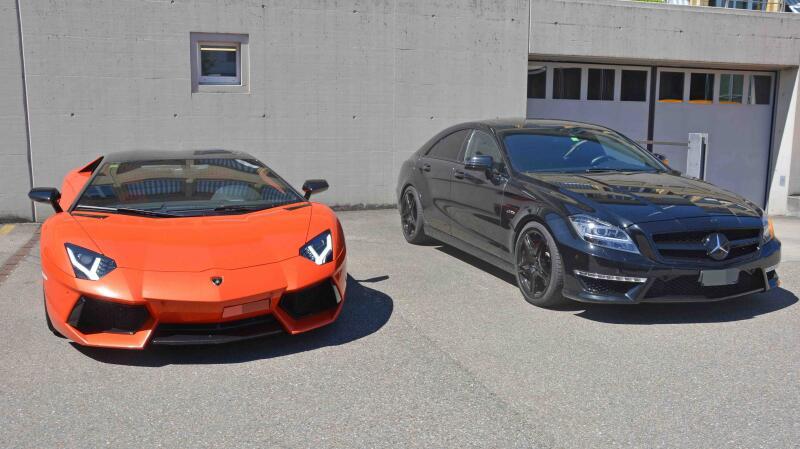 Bild zu Lamborghini, Mercedes, Autorennen, A1