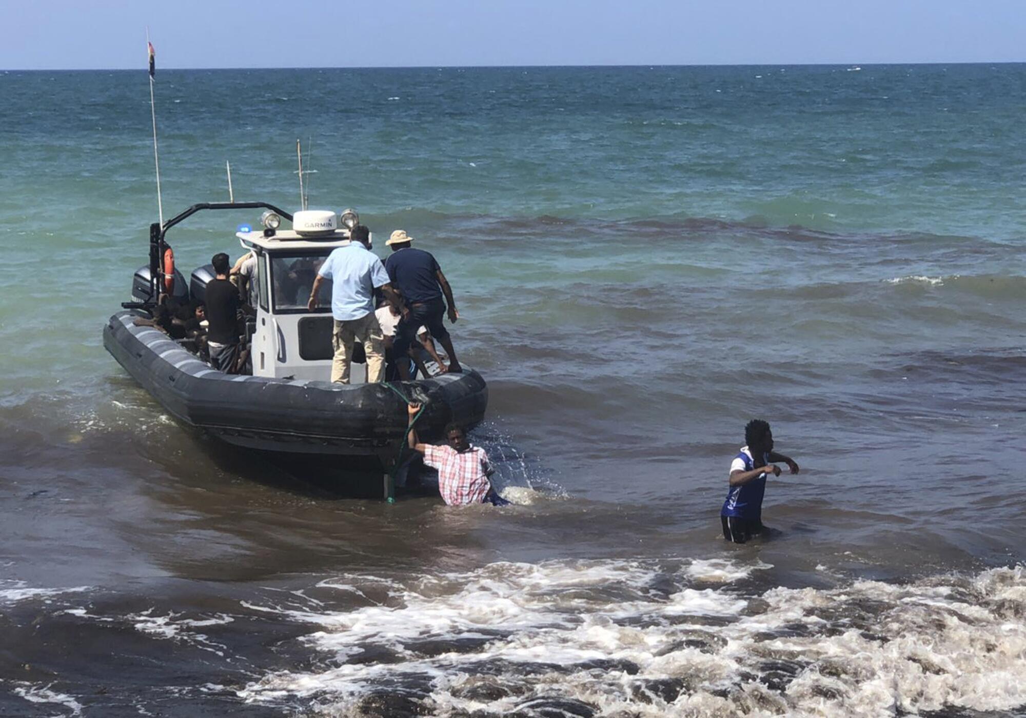 Bild zu Libyen, Küstenwache