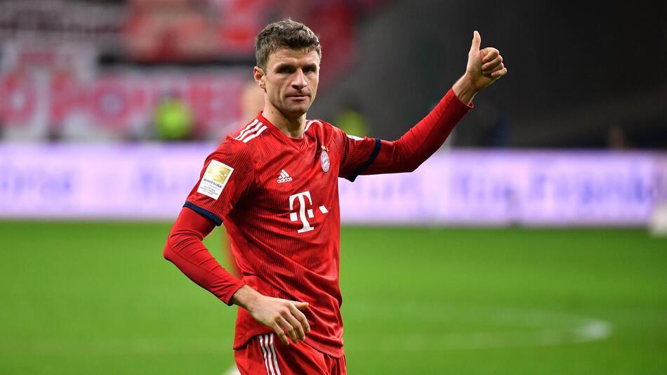 Thomas, Müller, FCB, Bayern, München, Bundesliga, Fussball