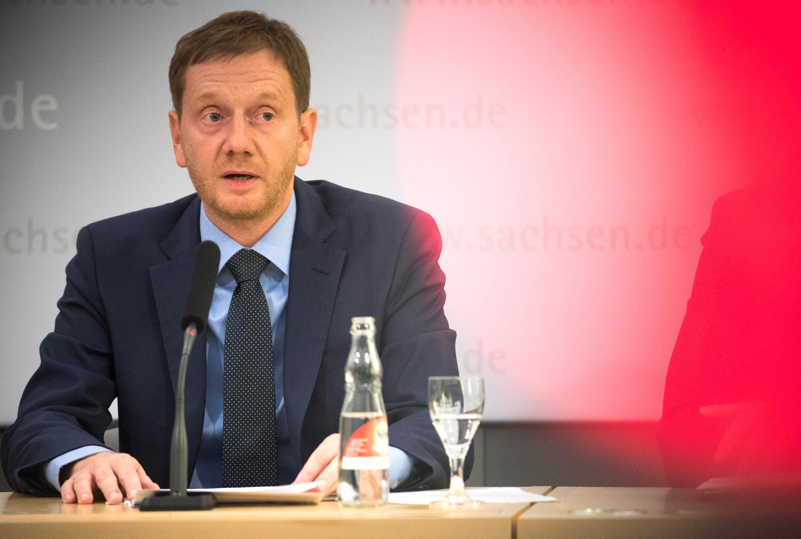 Bild zu Chemnitz, Michael Kretschmer, Ministerpräsident, Sachsen