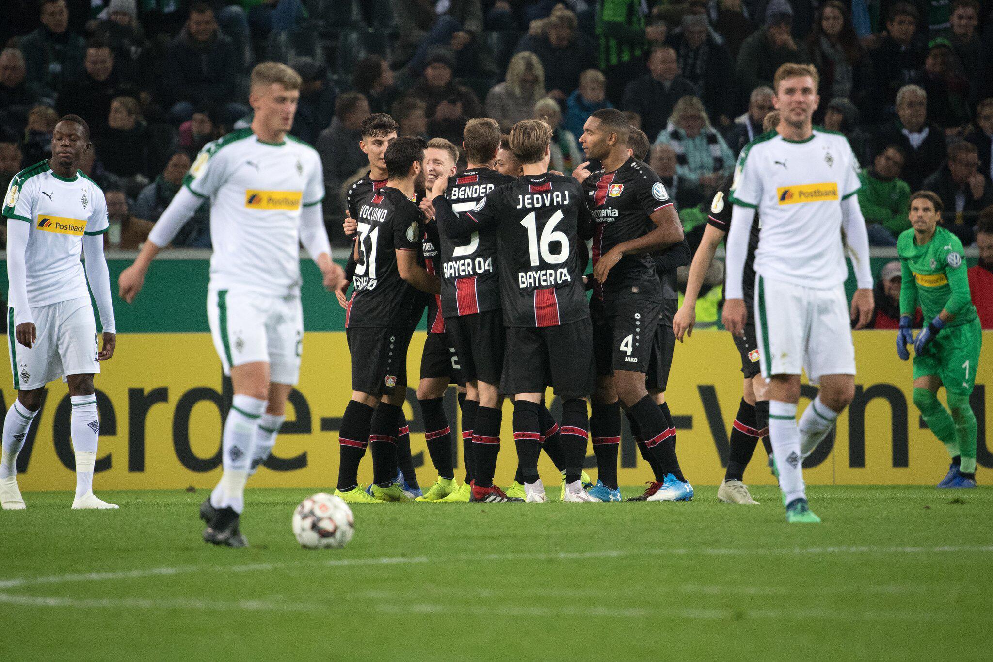 Bild zu Borussia Mönchengladbach - Bayer Leverkusen