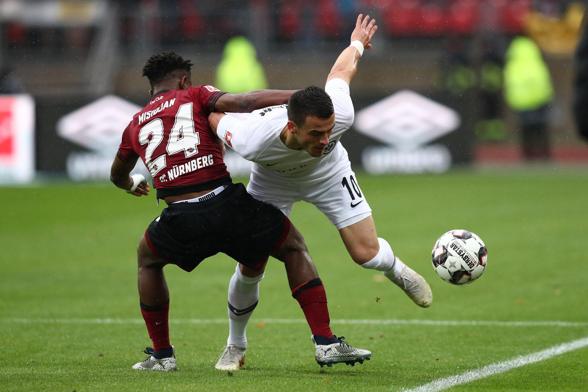Bild zu 1. FC Nürnberg - Eintracht Frankfurt