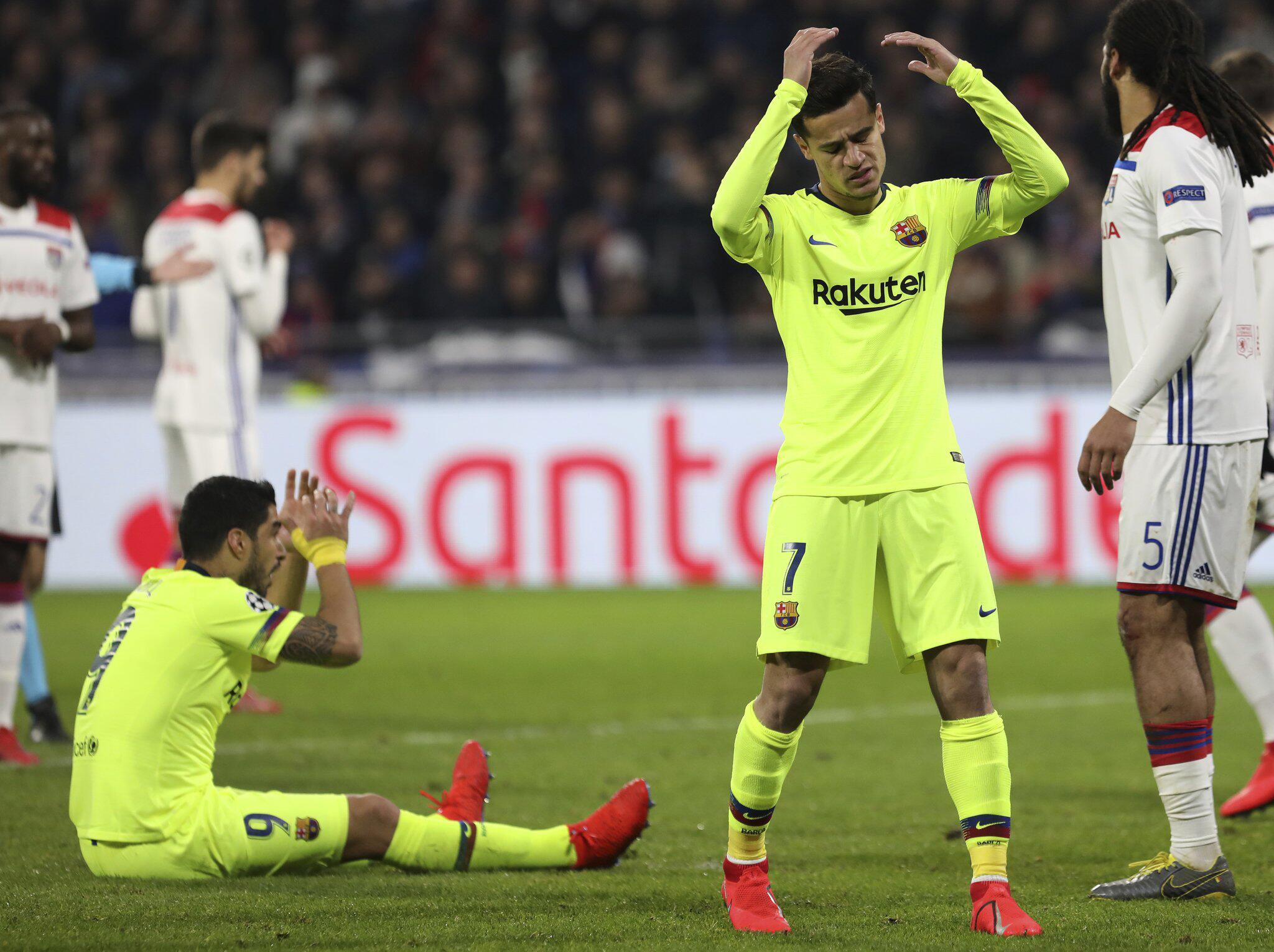 Bild zu Olympique Lyon - FC Barcelona