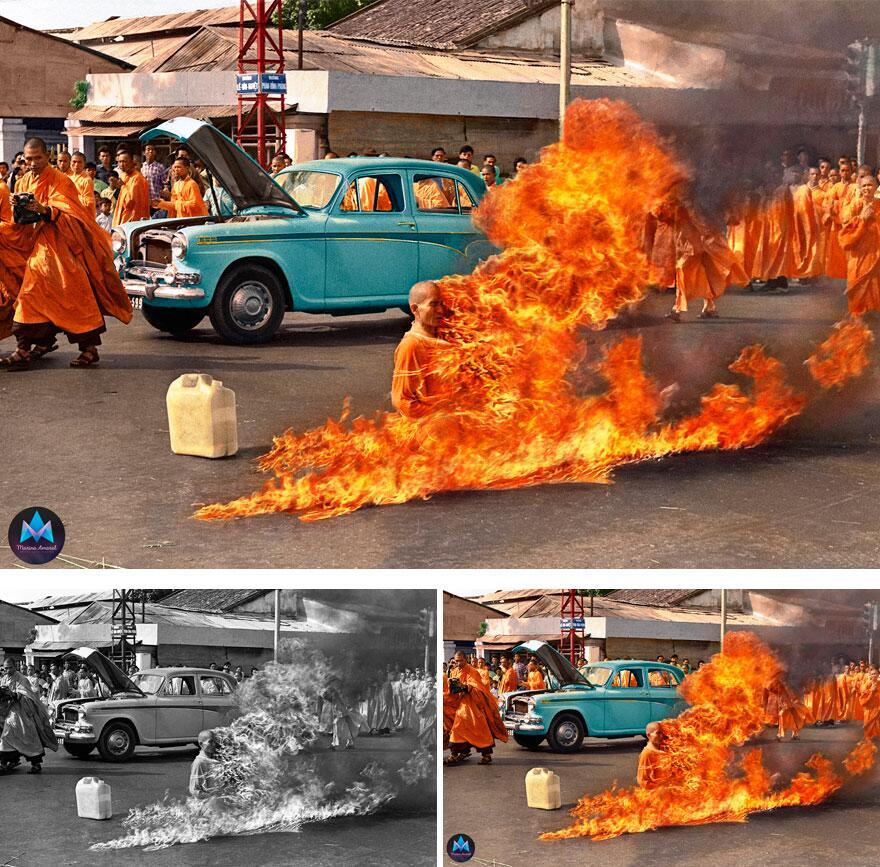 Bild zu Der brennende Mönch