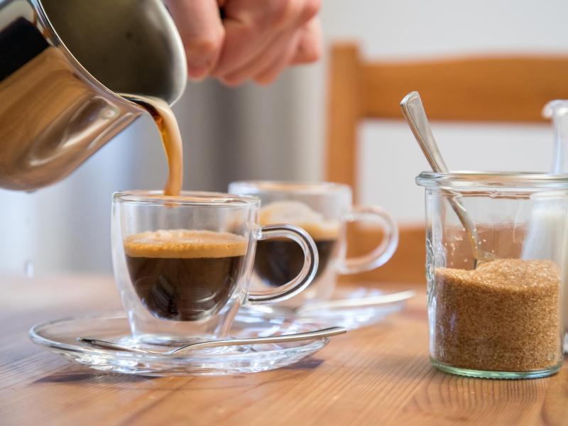 Bild zu Zubereitung von Espresso