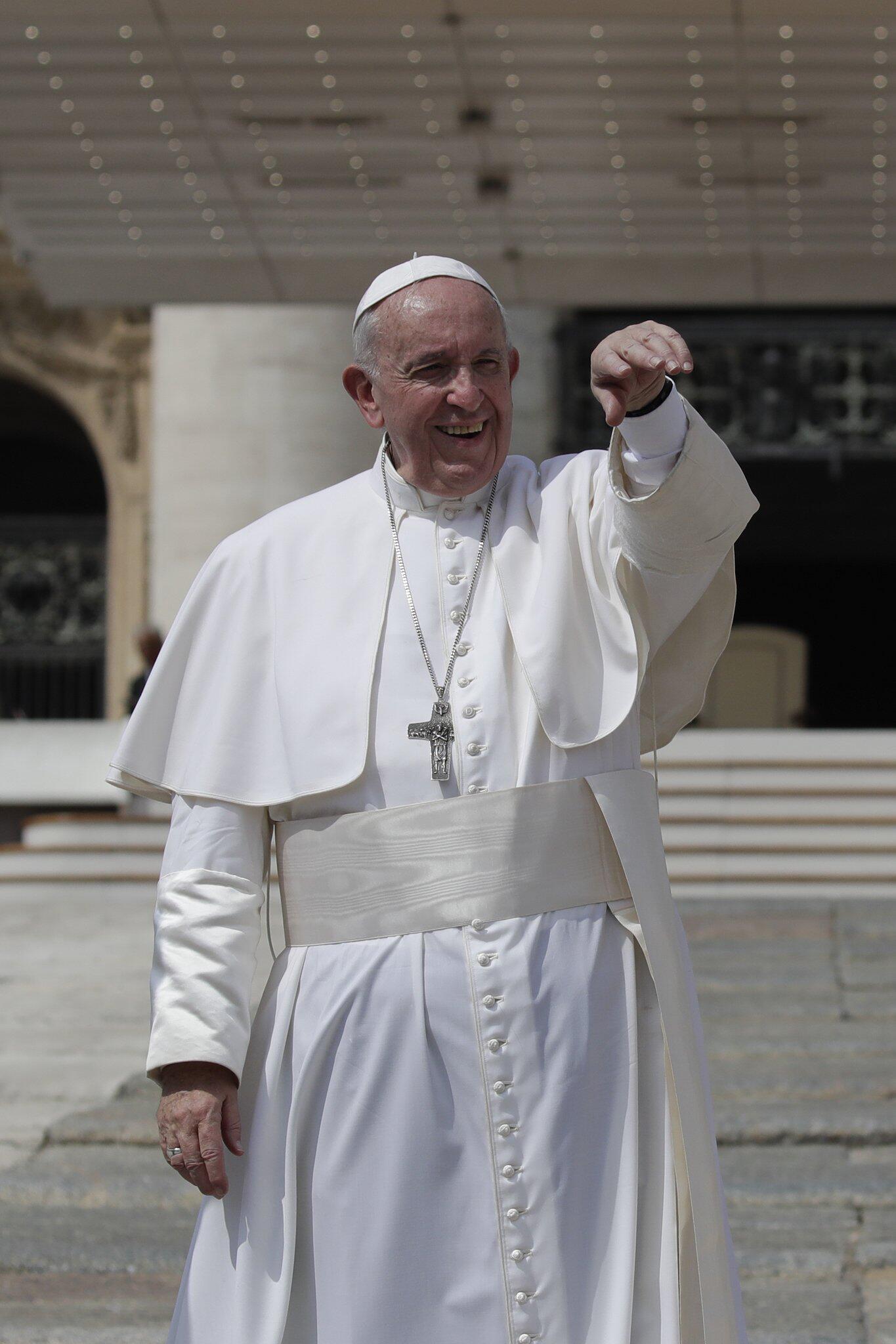 Bild zu Papst Franziskus - Generalaudienz