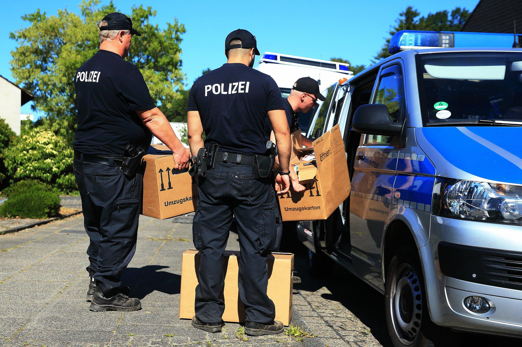 Bild zu Search for child corpses in Wuppertal