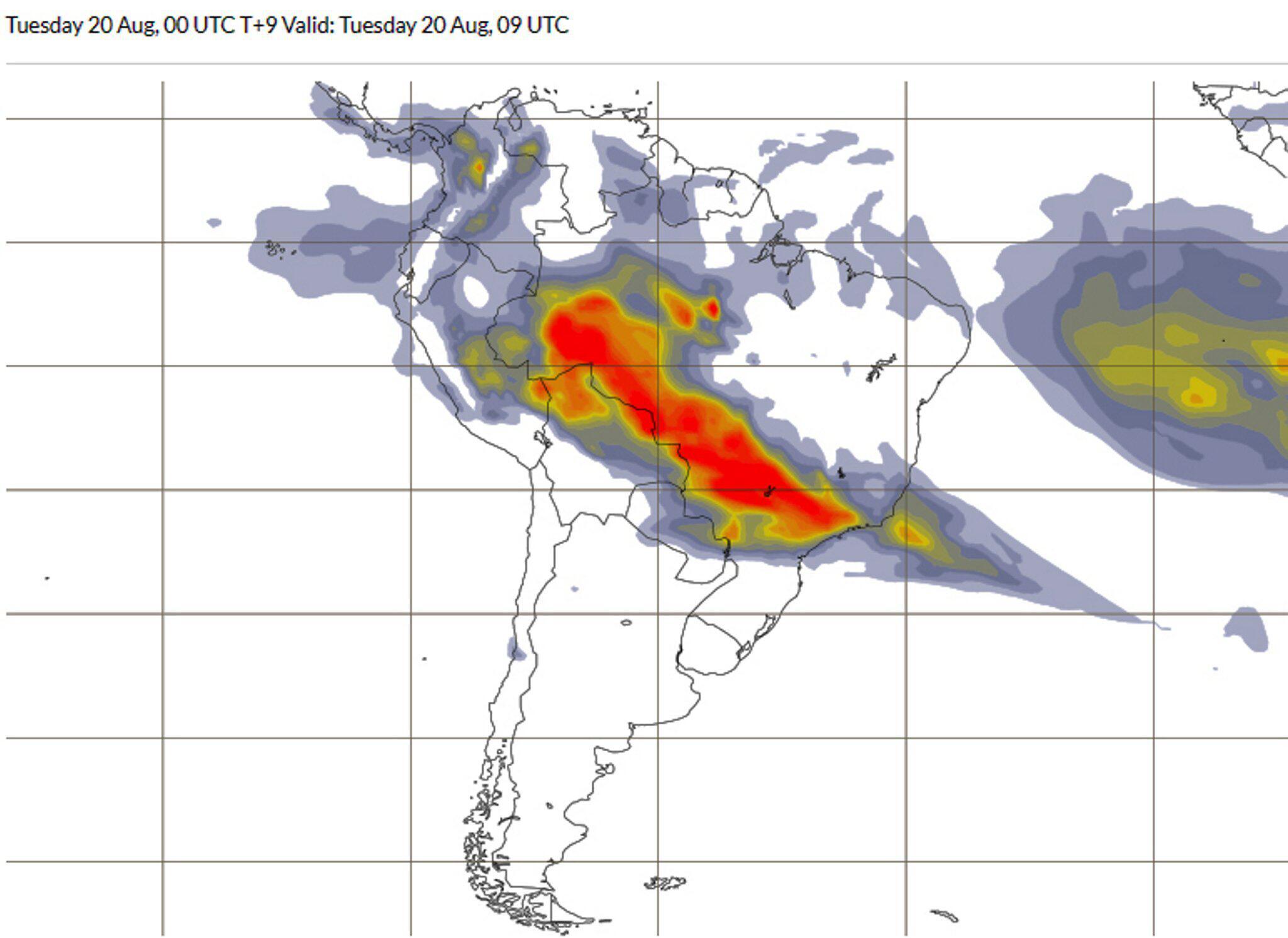 Bild zu Waldbrände im Amazonas