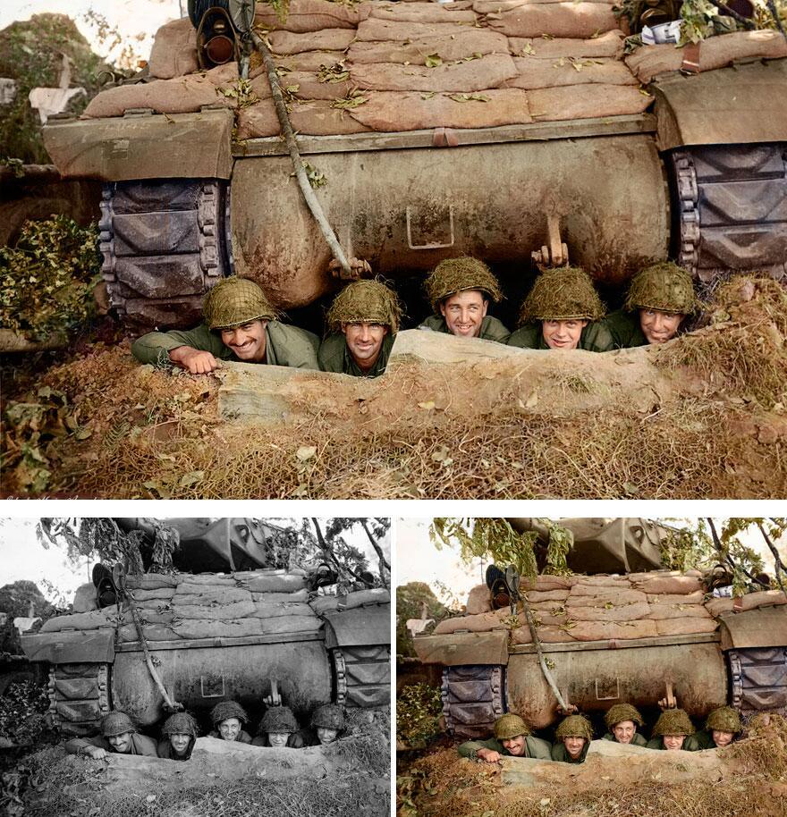 Bild zu Männer, Schützengraben
