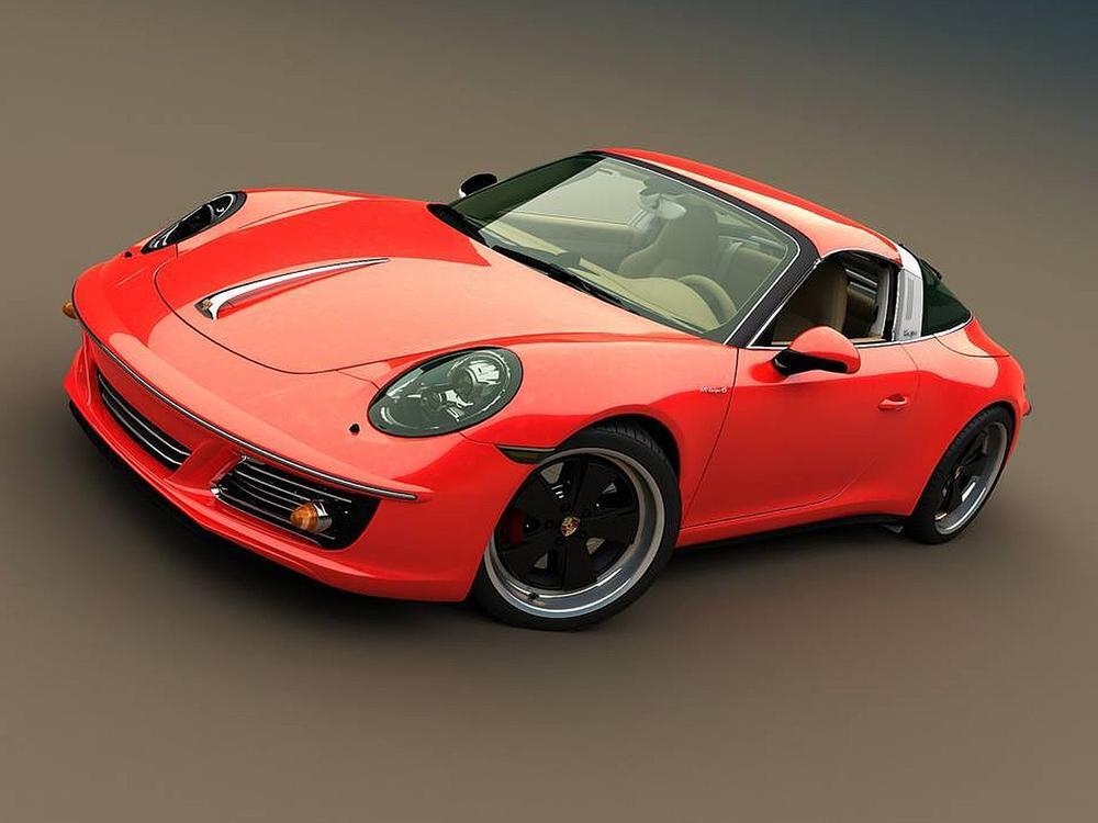 Bild zu Porsche 911 Targa von Zolland Design