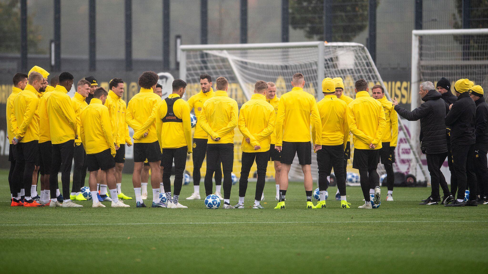 Bild zu Training Borussia Dortmund