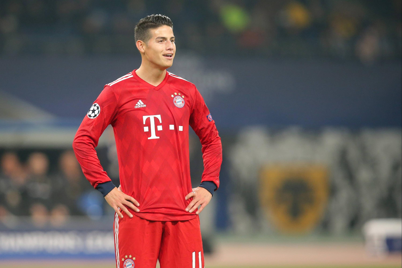 Bild zu FC Bayern, München, James, Bundesliga, Fussball