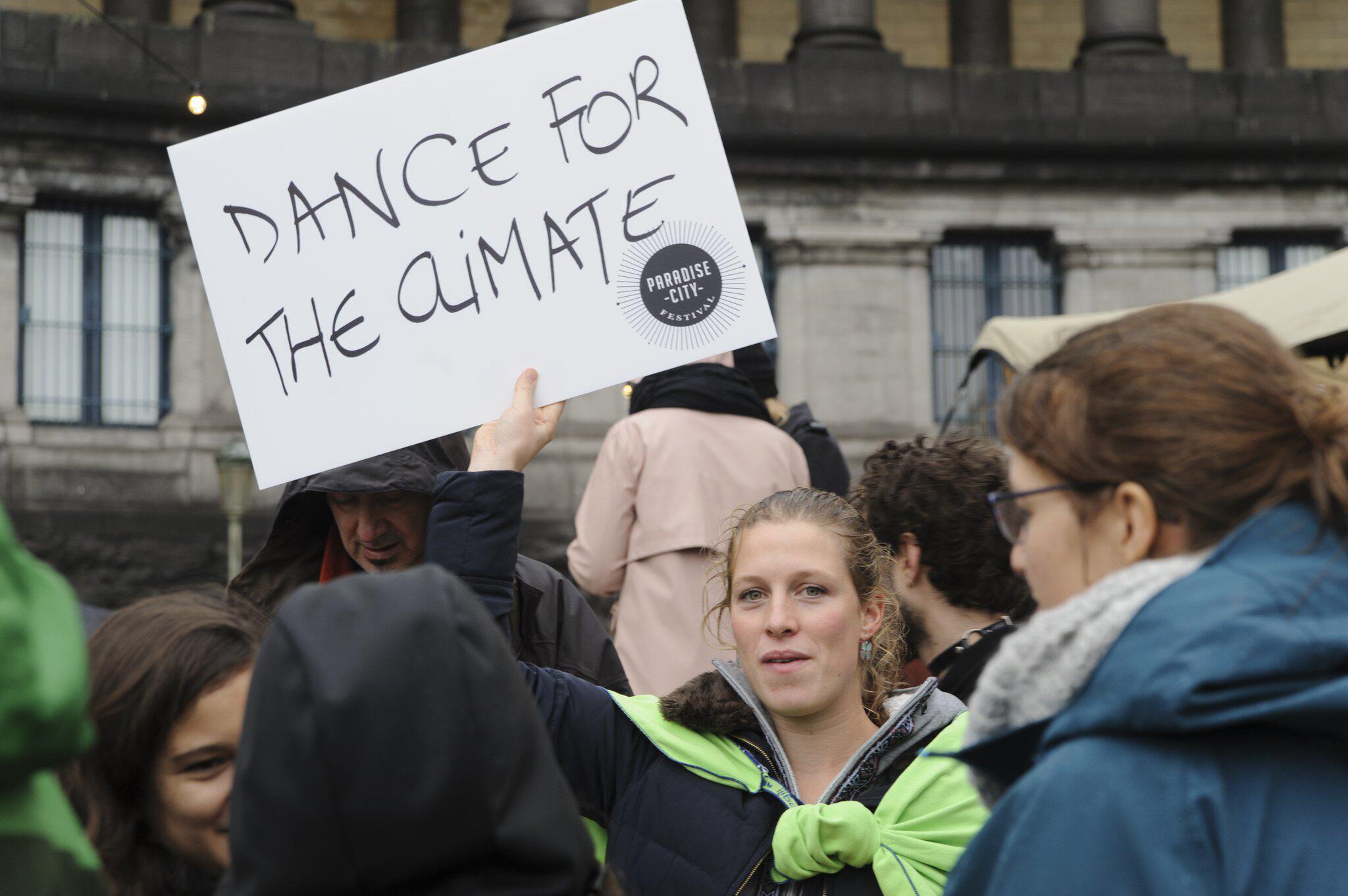 Bild zu Demonstration vor UN-Klimakonferenz