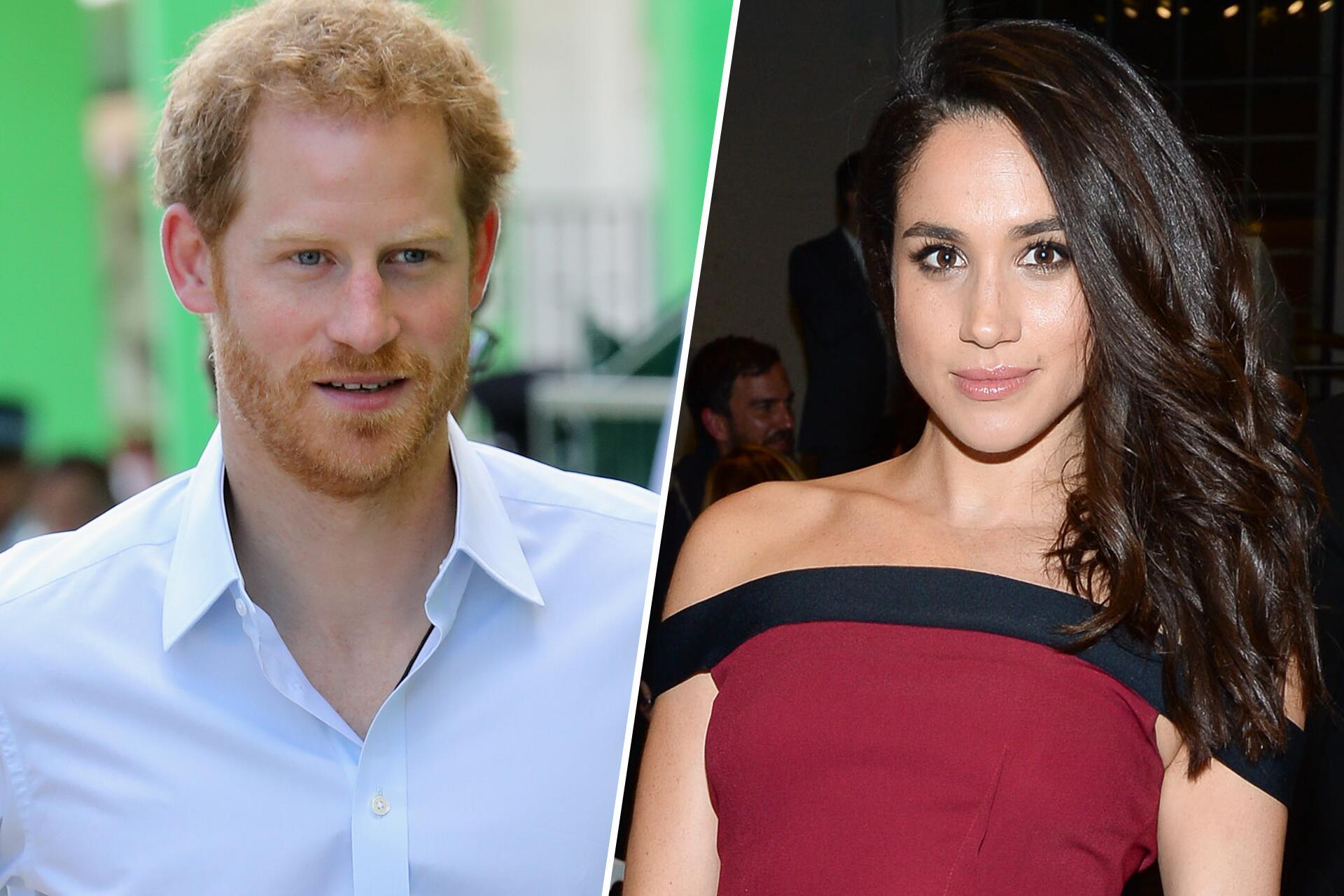 Bild zu Prinz Harry, Meghan Markle