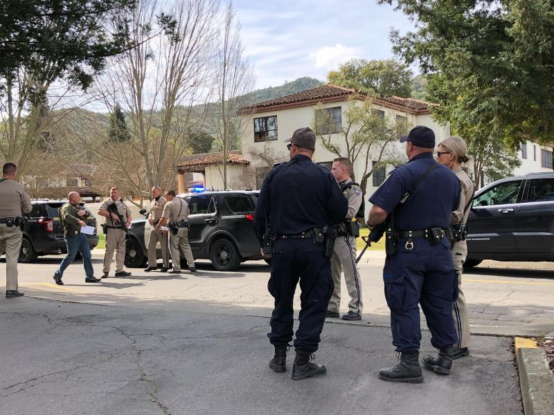 Bild zu Sicherheitskräfte im Einsatz