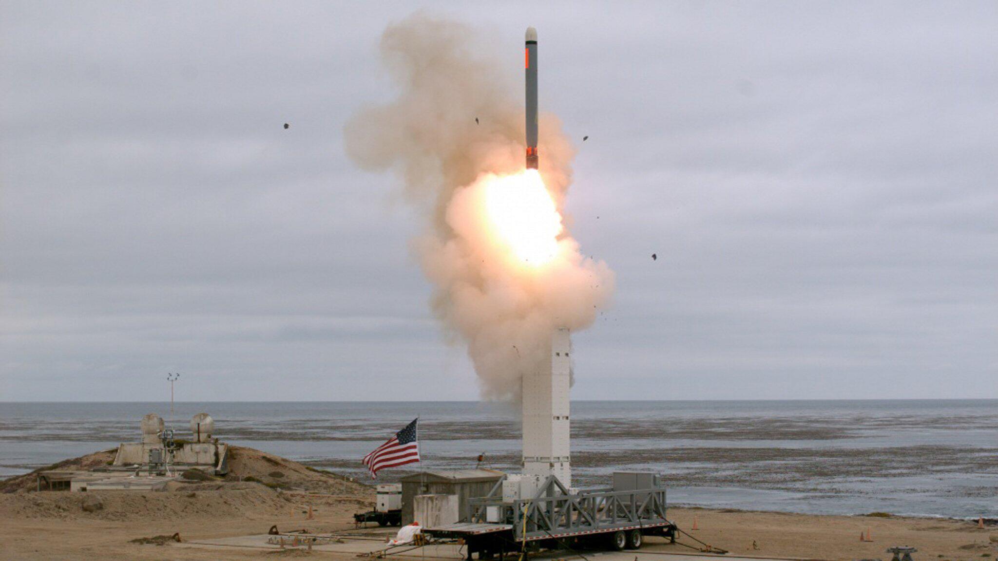 Bild zu US-Militär testet Marschflugkörper