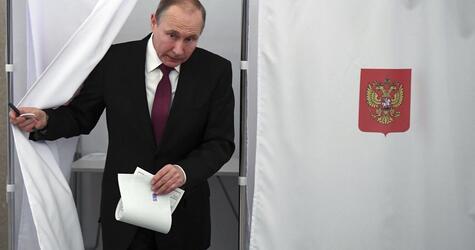 Präsidentenwahl in Russland läuft