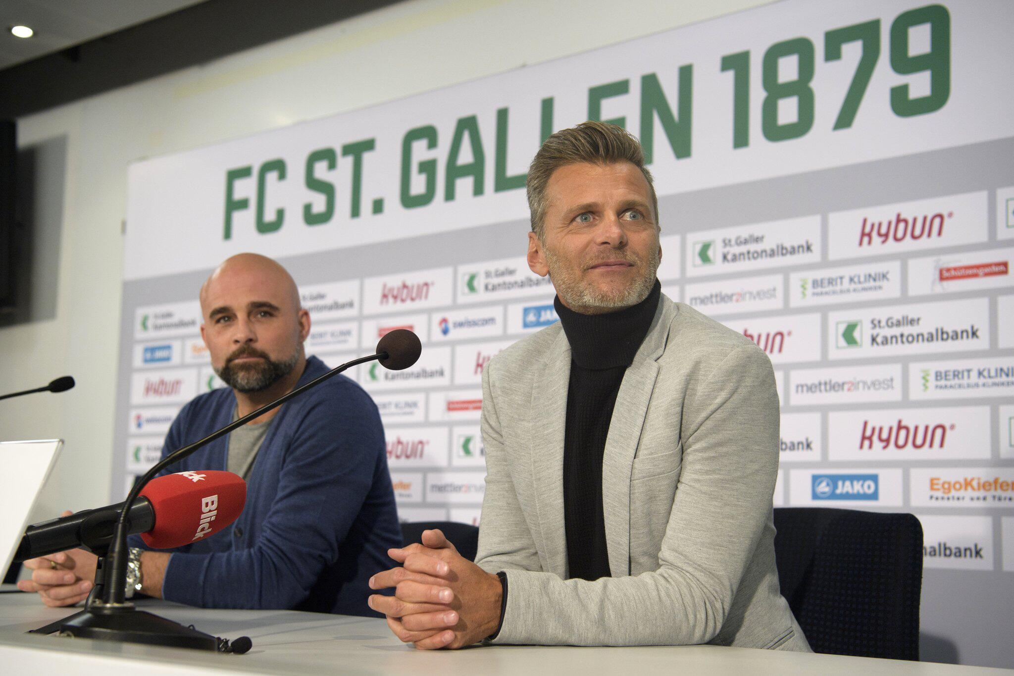 Bild zu Alain Sutter wird neuer Sportchef beim FC St. Gallen