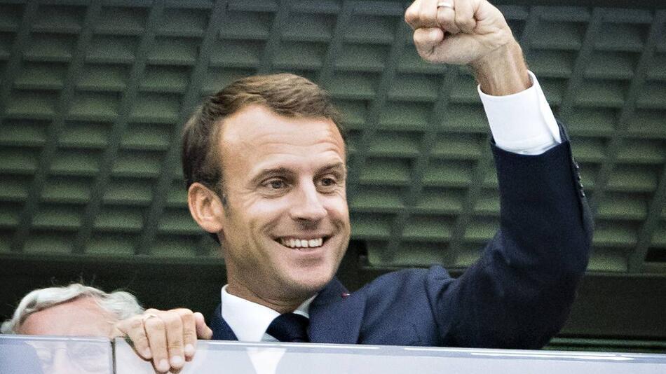 Emmanuel Macron, Frankreich, WM